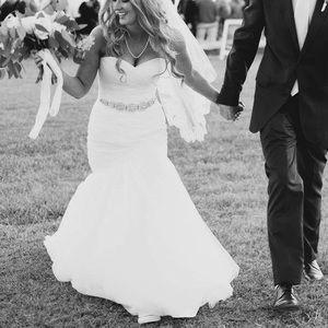 Mori Lee Mermaid/Trumpet Wedding Gown